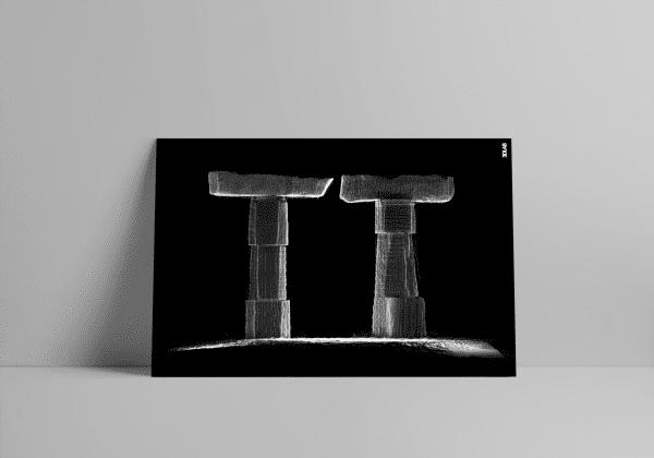 3D Laserscan van het TT-Monument in Assen
