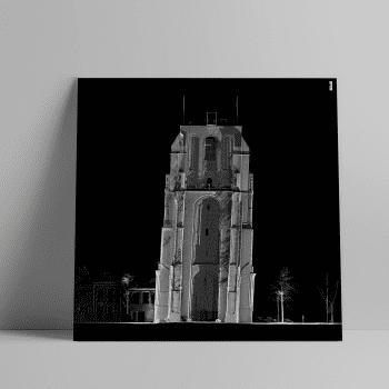 3D laserscan van de Oldehove in Leeuwarden