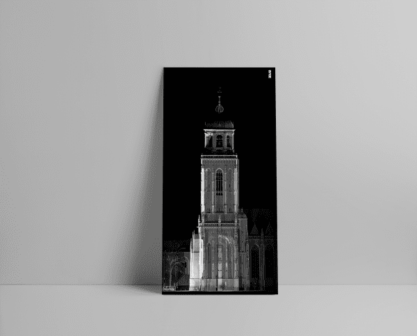 3D laserscan van de Grote of Lebuïnuskerk in Deventer