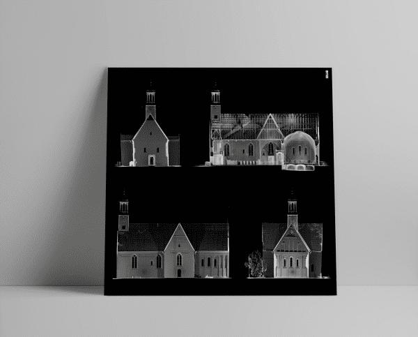 3D Laserscan van de Donatuskerk in Leermens