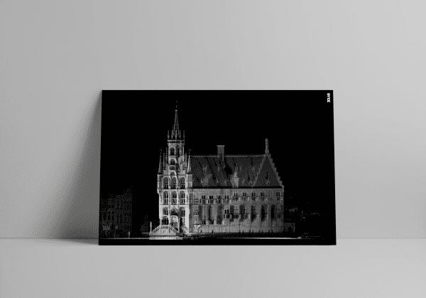 3D Laserscan van het Stadhuis in Gouda