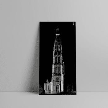 3D Laserscan van de Grote Kerk in Breda