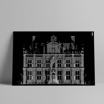 3D Laserscan van het Stadhuis in Delft