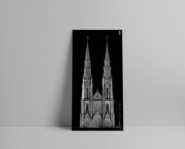3D Laserscan van de Sint-Catharinakerk in Eindhoven